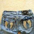 Miss Me Boot Cut Jeans-Distressed Image 5