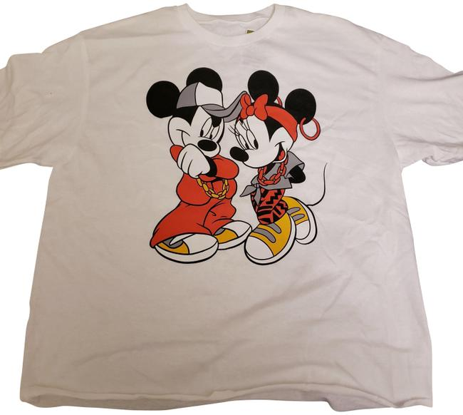 Preload https://img-static.tradesy.com/item/25638492/disney-white-power-couple-mickey-and-minnie-mouse-cropped-t-shirt-medium-tee-shirt-size-8-m-0-1-650-650.jpg
