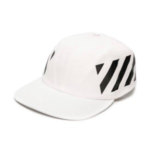 86bc2c92883e41 Off-White™ stripe diagonal printed baseball hat