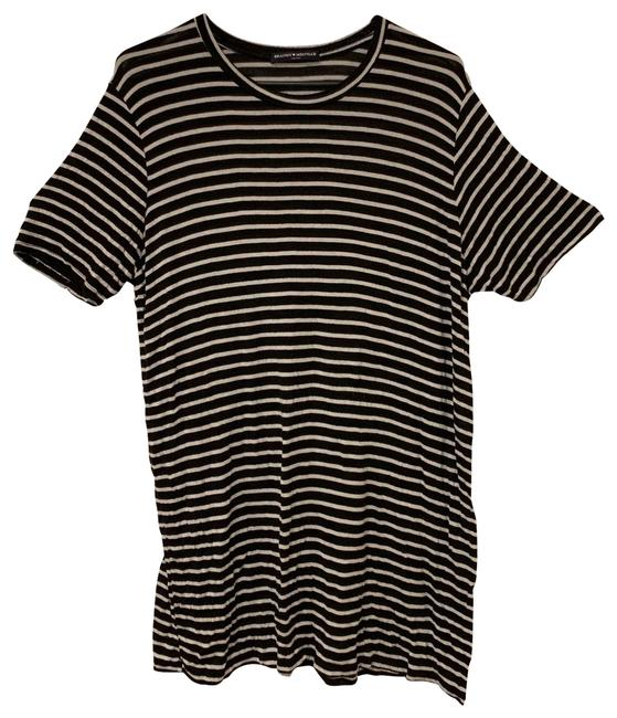 Preload https://img-static.tradesy.com/item/25638528/brandy-melville-black-and-white-short-casual-dress-size-os-one-size-0-1-650-650.jpg