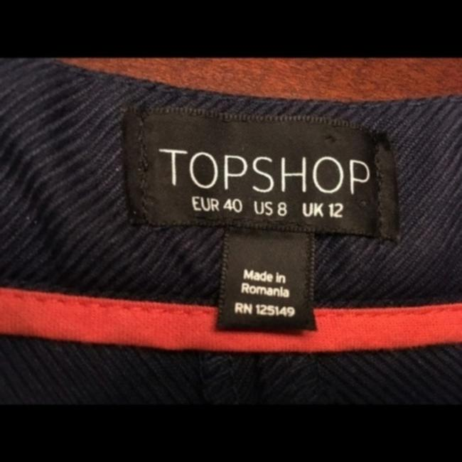 Topshop Mini/Short Shorts Blue Image 3