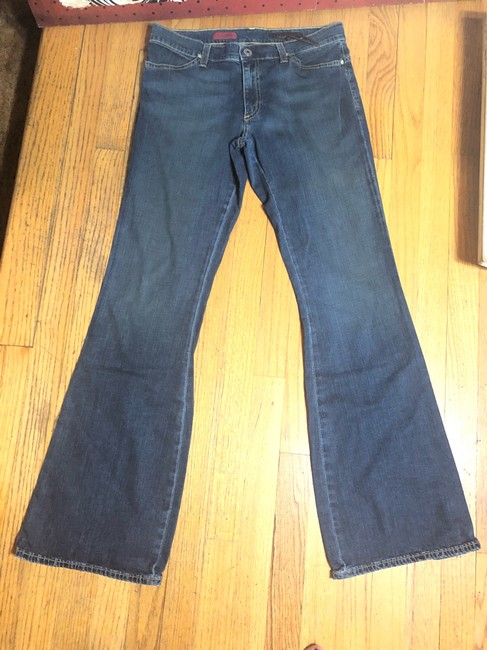 AG Adriano Goldschmied Flare Leg Jeans-Medium Wash Image 11