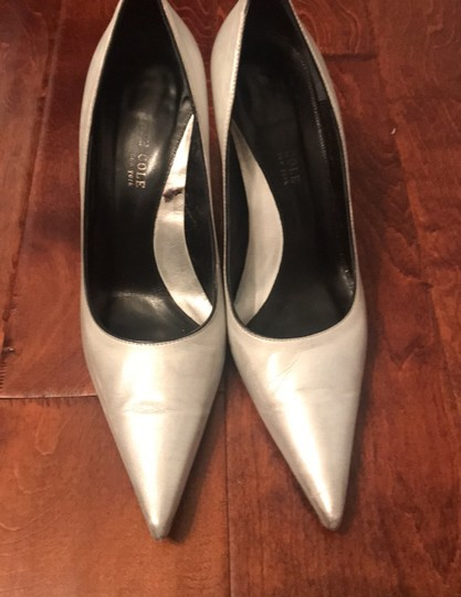 Kenneth Cole silver Pumps Image 1