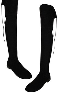 Dolce Vita Faux Suede Over The Knee Tall Stretch Onm003 black Boots