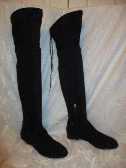 Dolce Vita Faux Suede Over The Knee Tall Stretch Onm003 black Boots Image 1