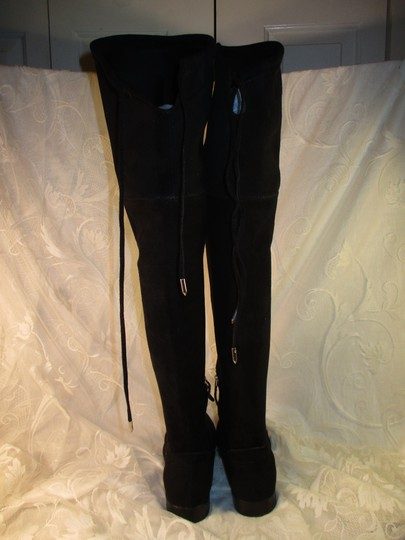 Dolce Vita Faux Suede Over The Knee Tall Stretch Onm003 black Boots Image 3