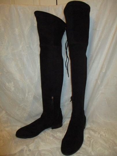 Dolce Vita Faux Suede Over The Knee Tall Stretch Onm003 black Boots Image 6