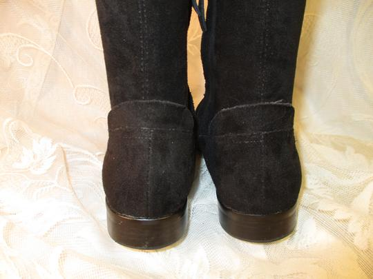 Dolce Vita Faux Suede Over The Knee Tall Stretch Onm003 black Boots Image 7