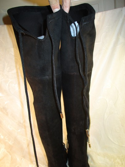 Dolce Vita Faux Suede Over The Knee Tall Stretch Onm003 black Boots Image 8