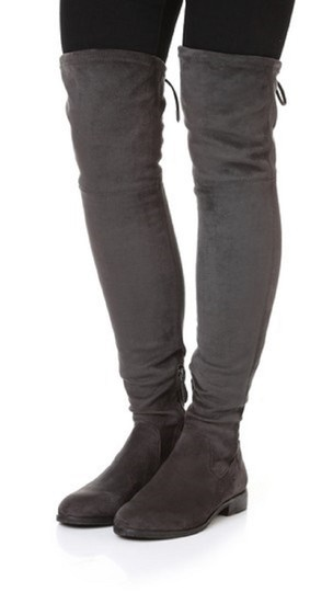 Dolce Vita Faux Suede Over The Knee Tall Stretch Onm003 black Boots Image 9