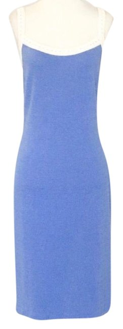 Preload https://img-static.tradesy.com/item/25638628/multicolor-sleeveless-knit-short-cocktail-dress-size-8-m-0-1-650-650.jpg