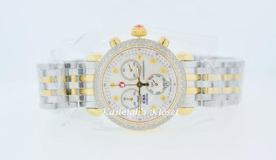 Michele CSX Two Tone Stainless Mother of Pearl Diamond Dial MWW03M000158 Image 10