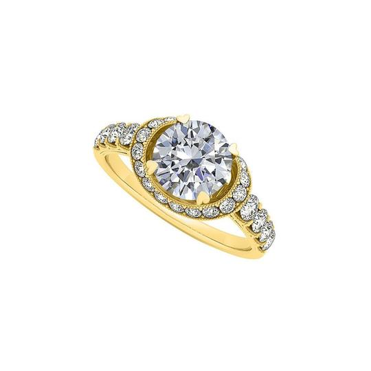 Preload https://img-static.tradesy.com/item/25638687/white-cubic-zirconia-engagement-in-14k-yellow-gold-ring-0-0-540-540.jpg