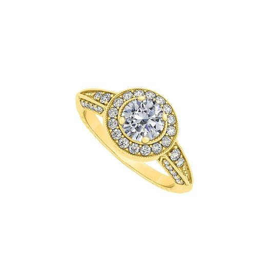 Preload https://img-static.tradesy.com/item/25638695/white-yellow-gold-halo-engagement-with-cubic-zirconia-ring-0-0-540-540.jpg