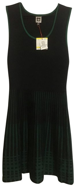 Preload https://img-static.tradesy.com/item/25638708/anne-klein-black-and-green-60448826-k11-mid-length-night-out-dress-size-8-m-0-1-650-650.jpg