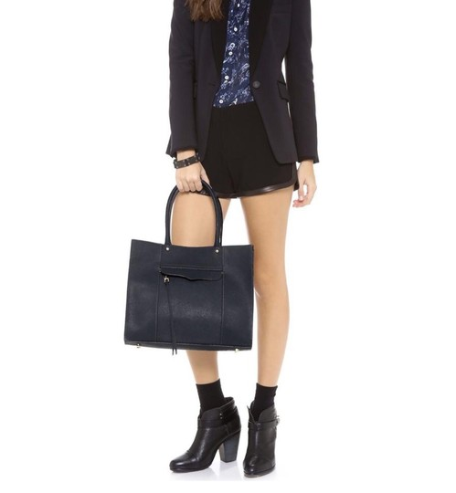 Rebecca Minkoff Satchel in black Image 2