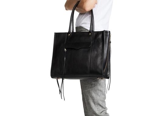 Rebecca Minkoff Satchel in black Image 4