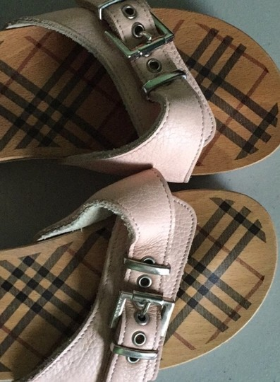 Burberry Pink Sandals Image 1