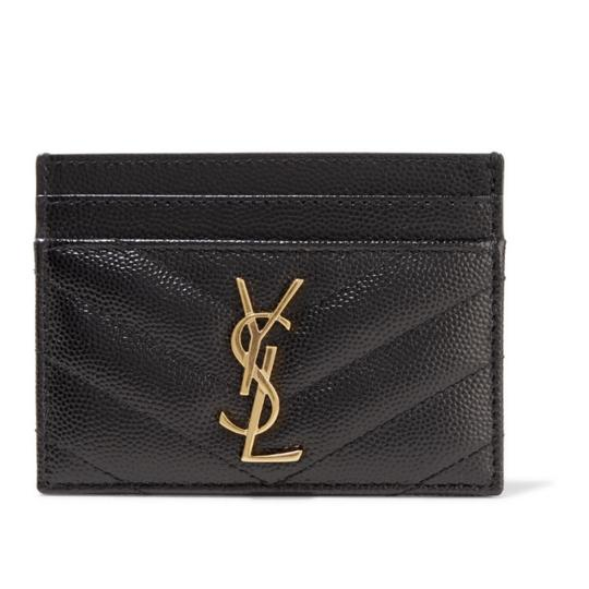 Preload https://img-static.tradesy.com/item/25638766/saint-laurent-black-monogram-quilted-leather-card-holder-wallet-0-1-540-540.jpg