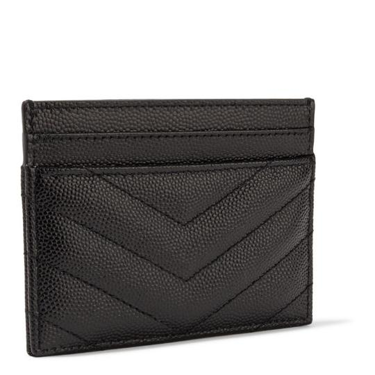 Saint Laurent monogram quilted leather card holder Image 2