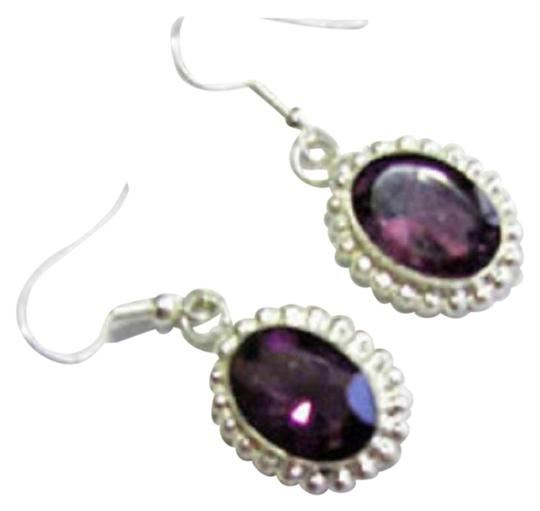 Preload https://img-static.tradesy.com/item/25638784/purple-amethyst-in-sterling-silver-dangle-earrings-0-1-540-540.jpg