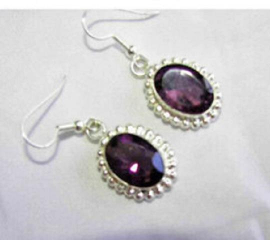 Other Amethyst in Sterling silver dangle earrings Image 2