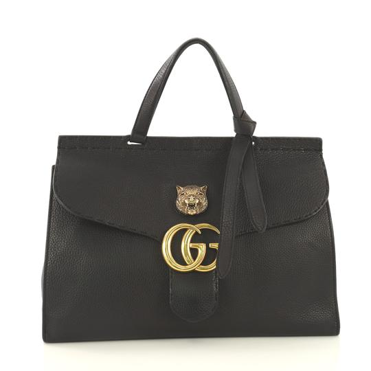Preload https://img-static.tradesy.com/item/25638826/gucci-tote-top-handle-bag-animalier-marmont-gg-leather-medium-black-satchel-0-0-540-540.jpg