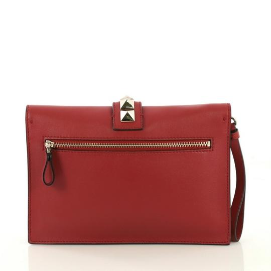 Valentino red Clutch Image 2