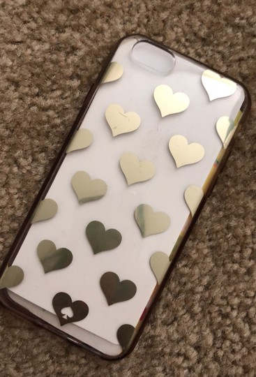 Kate Spade Kate Spade clear hearts iPhone 6s case Image 1