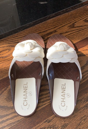 Chanel white Sandals Image 4