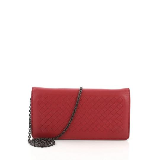 Bottega Veneta red Clutch Image 0