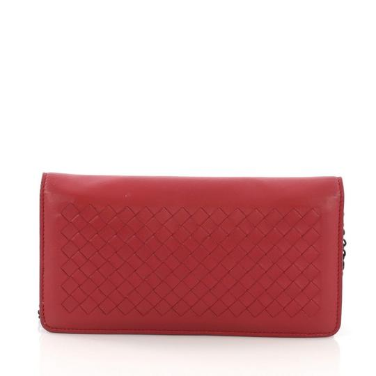 Bottega Veneta red Clutch Image 3