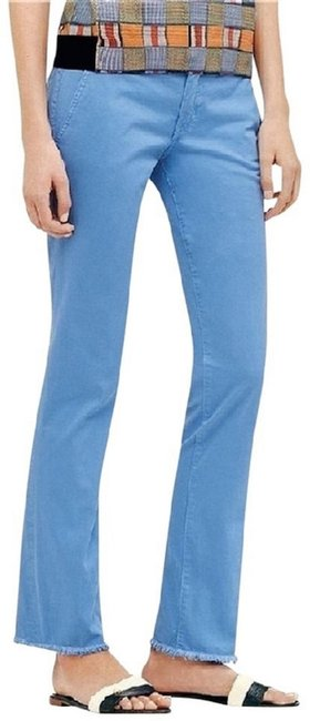 Item - Blue W New Tag Chino Pant In Faded Gulf Shore Capris Size 6 (S, 28)