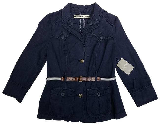 Item - Navy Blue Daughters Of The Liberation Jacket Size 2 (XS)