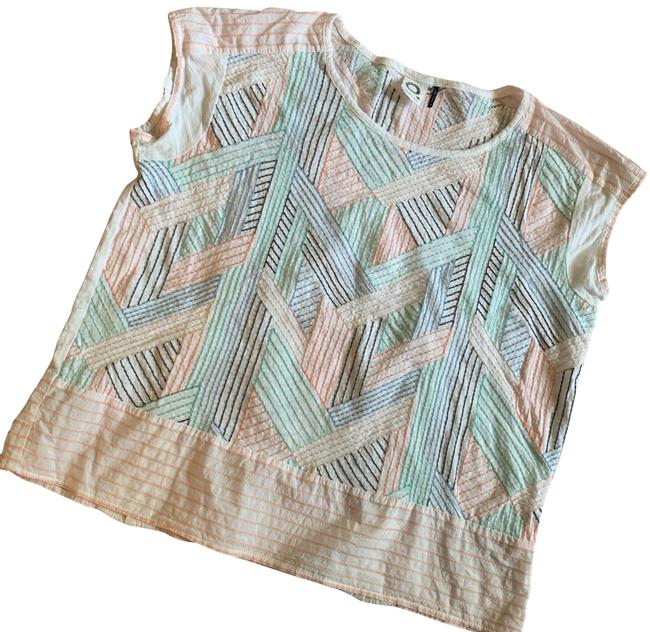 Preload https://img-static.tradesy.com/item/25639488/anthropologie-embroidered-tee-shirt-size-8-m-0-1-650-650.jpg
