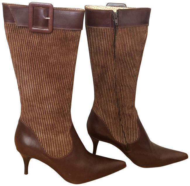 Item - Brown Lotto Leather/Suede Boots/Booties Size US 9 Regular (M, B)