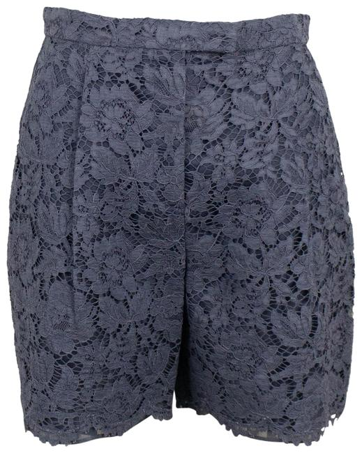 Item - Gray Floral Embroidered Lace Shorts Size 4 (S, 27)