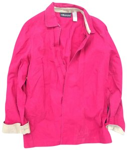 Sag Harbor Button Down Shirt Pink