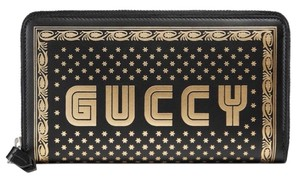 Gucci NEW GUCCI GUCCY BOX LARGE CONTINENTAL ZIP AROUND WALLET CLUTCH BAG BOX