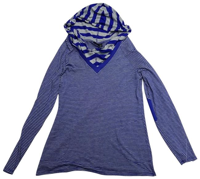 Item - Blue Free Shipping Hooded Activewear Top Size 12 (L)