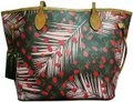 Louis Vuitton Limited Edition Palm Springs Neverfull Rare Jungle Shoulder Bag