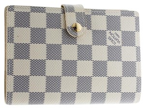 Louis Vuitton Damier Azur Canvas Agenda Cover