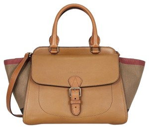 Burberry Tote in Multi ( Saddle Brown)