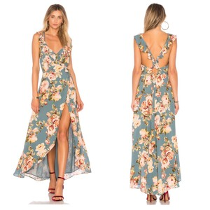 Sage Marissa Floral Maxi Dress by Privacy Please