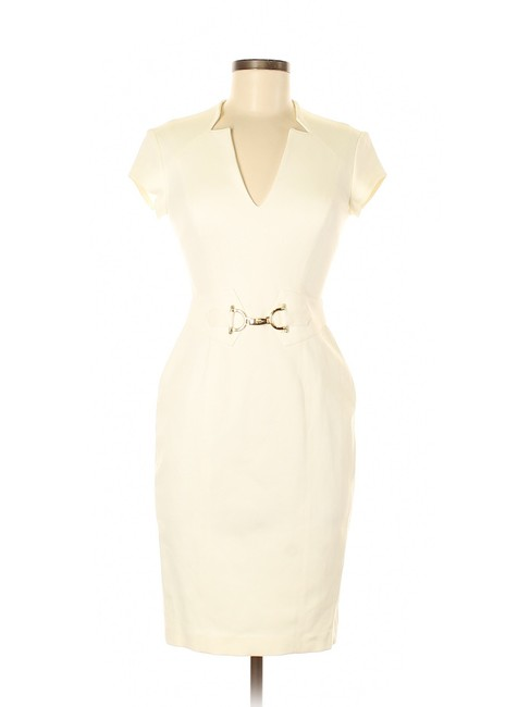 Item - Ivory Casual Mid-length Formal Dress Size 0 (XS)