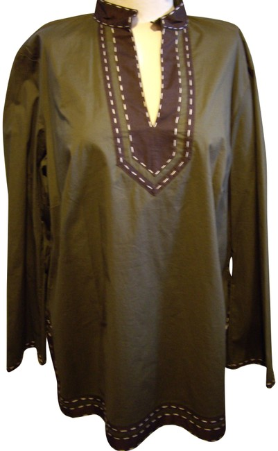Item - Olive Green Tunic Size 20 (Plus 1x)