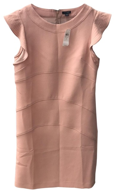 Ann Taylor Peachy Nude 15862365 Mid-length Formal Dress Size 2 (XS) Ann Taylor Peachy Nude 15862365 Mid-length Formal Dress Size 2 (XS) Image 1