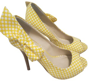 Marco Santi yellow and white Platforms
