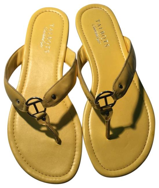Item - Yellow Sandals Size US 8 Regular (M, B)
