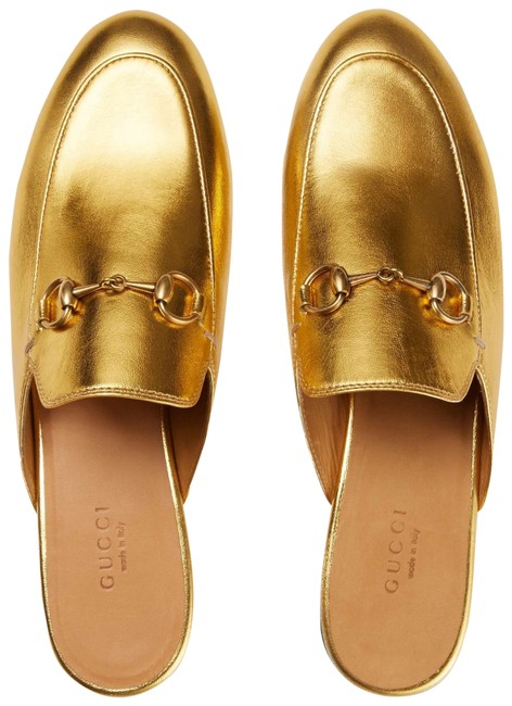 Item - Gold Princetown Leather Slipper(Run Small) Sneakers Size EU 36 (Approx. US 6) Regular (M, B)